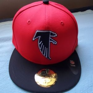 New Era Atlanta Falcons 7 3/4 Fitted Hat